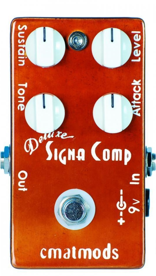 【レビューを書いて次回送料無料クーポンGET】CMATMODS Deluxe Signa Comp エフェクター【メーカー1年保証】【シーマットモッズ】【コンプレッサー】【新品】
