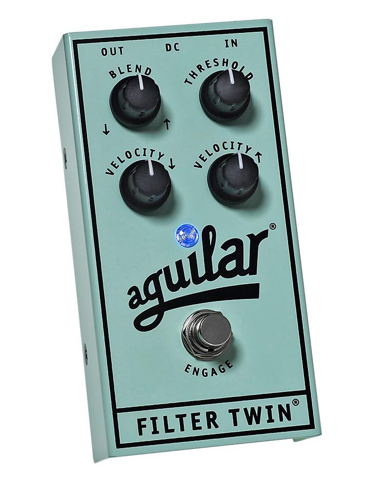 【レビューを書いて次回送料無料クーポンGET】Aguilar Filter Twin エフェクター [並行輸入品][直輸入品] 【Aguilar】【アギュラー】【ベース用エフェクター】【新品】