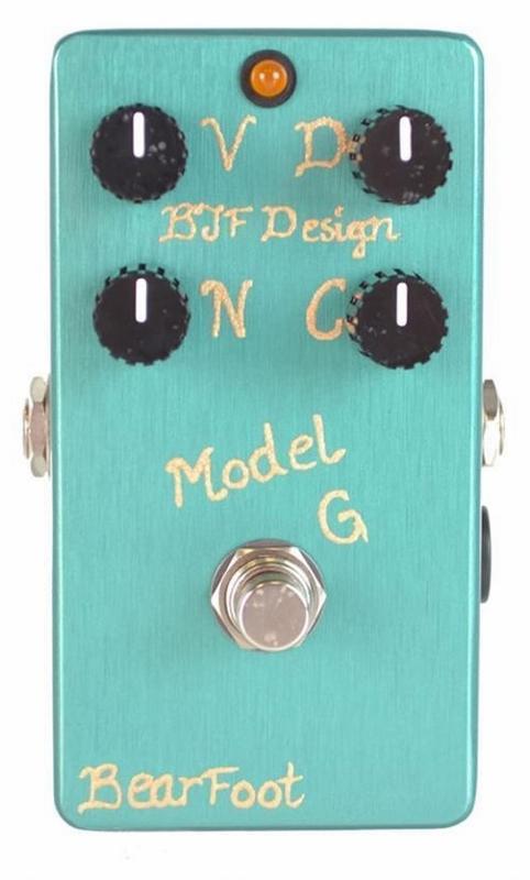 【レビューを書いて次回送料無料クーポンGET】BearFoot Guitar Effects Model G エフェクター【メーカー1年保証】【ベアフット】【オーバードライブ】【新品】