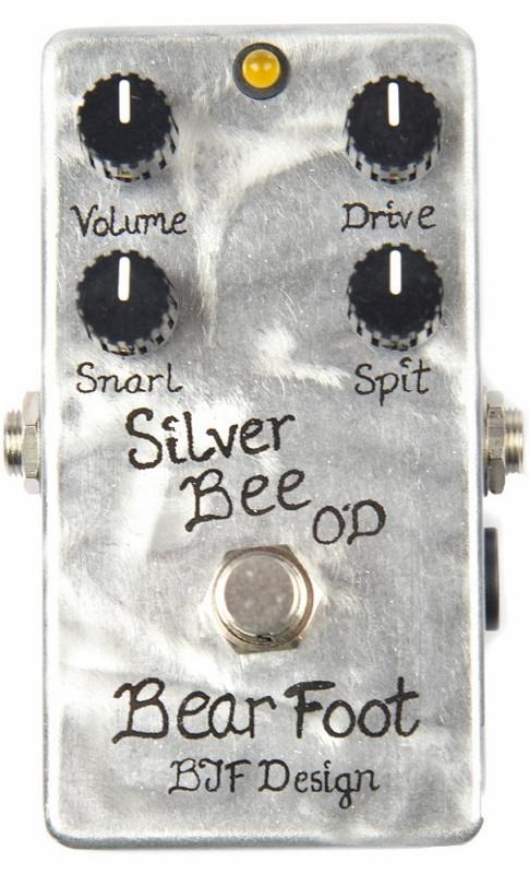 【レビューを書いて次回送料無料クーポンGET】BearFoot Guitar Effects Silver Bee OD エフェクター【メーカー1年保証】【ベアフット】【オーバードライブ】【新品】