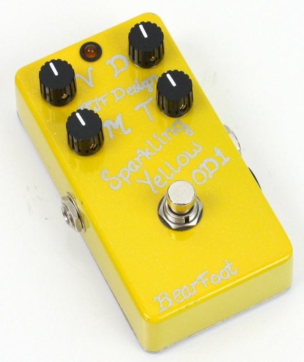 【レビューを書いて次回送料無料クーポンGET】BearFoot Guitar Effects Sparkling Yellow OD1 エフェクター【メーカー1年保証】【ベアフット】【オーバードライブ】【新品】