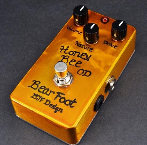 【レビューを書いて次回送料無料クーポンGET】BearFoot Guitar Effects Honey Bee OD エフェクター【メーカー1年保証】【ベアフット】【オーバードライブ】【新品】