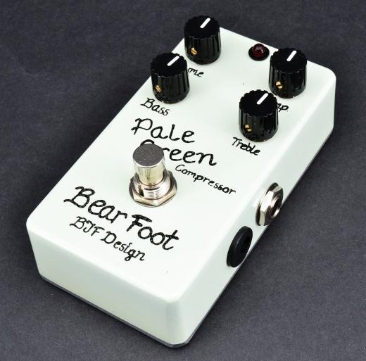 【レビューを書いて次回送料無料クーポンGET】Bearfoot Guitar Effects Pale Green Compressor V4 エフェクター【メーカー1年保証】【ベアフット】【コンプレッサー】【新品】