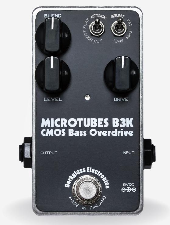 【レビューを書いて次回送料無料クーポンGET】Darkglass Electronics Microtubes B3K エフェクター【1年保証】【ダークグラスエレクトロニクス】【新品】