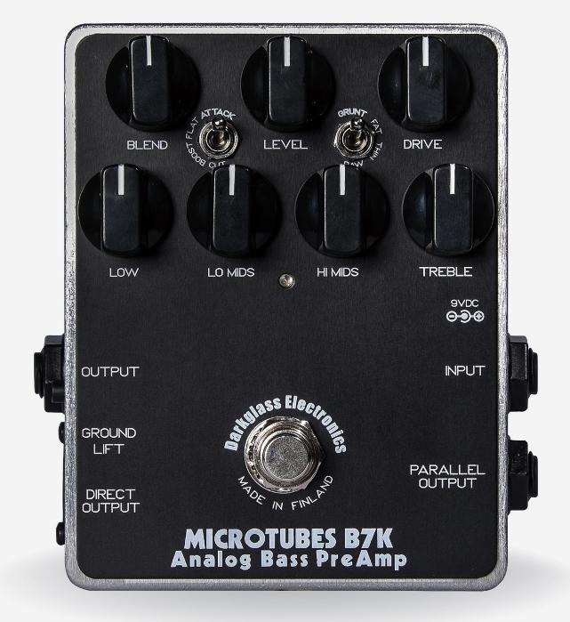 【レビューを書いて次回送料無料クーポンGET】Darkglass Electronics Microtubes B7K Ver2.0 エフェクター【1年保証】【ダークグラスエレクトロニクス】【新品】