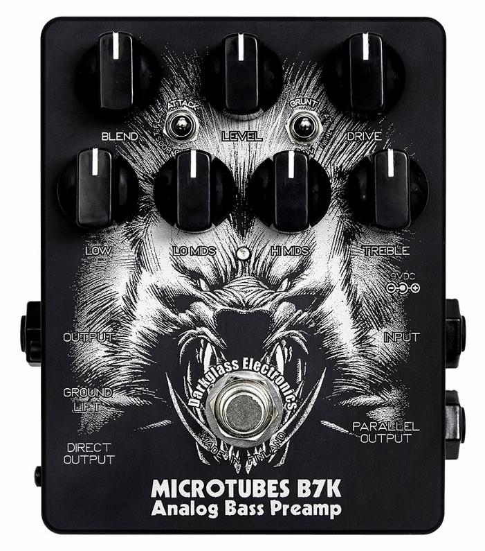 【レビューを書いて次回送料無料クーポンGET】Darkglass Electronics Microtubes B7K Limited Edition Ver2.0 エフェクター【1年保証】【ダークグラスエレクトロニクス】【新品】