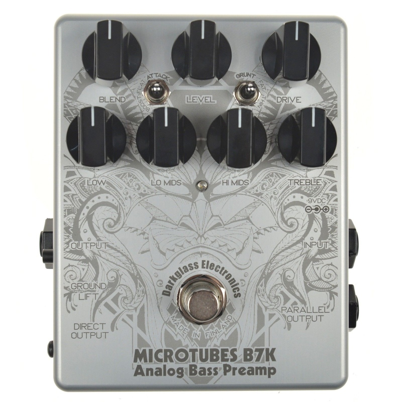 Microtubes ACID TOAD LIMITED Electronics B7K EDITION エフェクター【1年保証】【ダークグラスエレクトロニクス】【新品】 【レビューを書いて次回送料無料クーポンGET】Darkglass