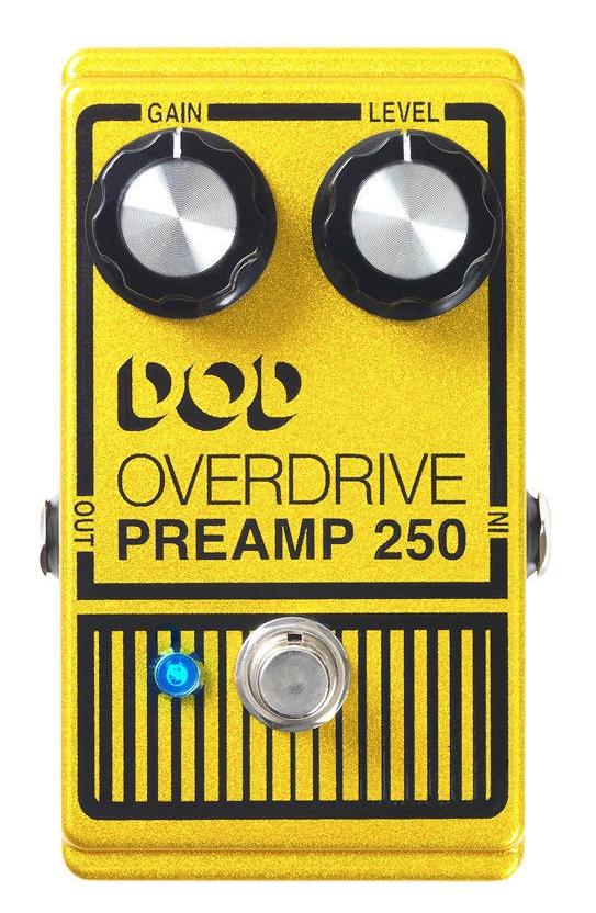 【レビューを書いて次回送料無料クーポンGET】DOD Overdrive Preamp 250 エフェクター [並行輸入品][直輸入品]【デジテック】【オーバードライブ】【新品】