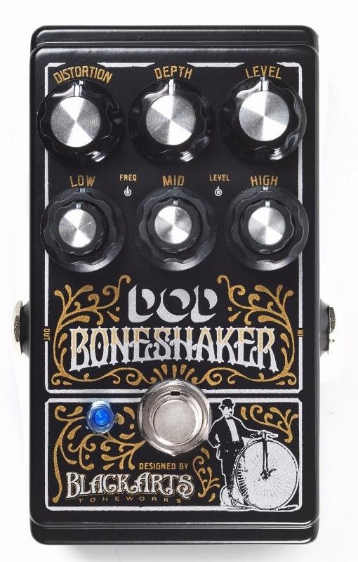 【レビューを書いて次回送料無料クーポンGET】DOD Boneshaker エフェクター [並行輸入品][直輸入品]【デジテック】【ディストーション】【新品】
