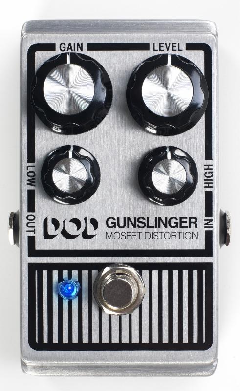 【レビューを書いて次回送料無料クーポンGET】DOD Gunslinger エフェクター [並行輸入品][直輸入品]【デジテック】【ディストーション】【新品】