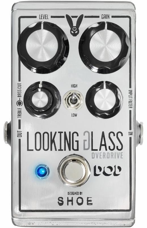 【レビューを書いて次回送料無料クーポンGET】DOD Looking Glass エフェクター [並行輸入品][直輸入品]【デジテック】【オーバードライブ】【新品】