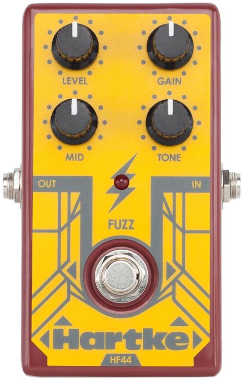 【レビューを書いて次回送料無料クーポンGET】Hartke HF44 Bass Fuzz エフェクター [並行輸入品][直輸入品]【ハートキー】【新品】