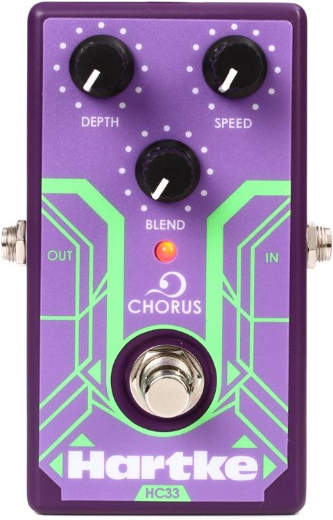 【レビューを書いて次回送料無料クーポンGET】Hartke HC33 Chorus Analog Bass Chorus Pedal エフェクター [並行輸入品][直輸入品]【ハートキー】【新品】