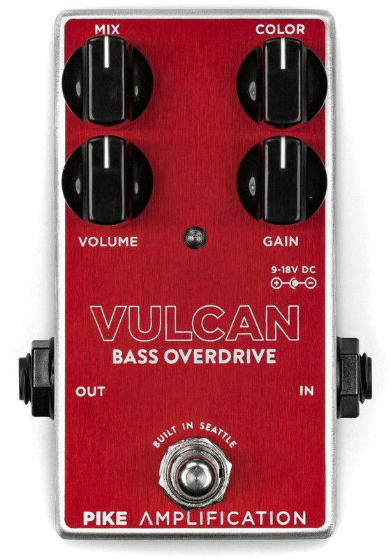 【レビューを書いて次回送料無料クーポンGET】Pike Amplification Vulcan Bass Overdrive エフェクター【メーカー1年保証】【パイクアンプリフィケーション】【新品】