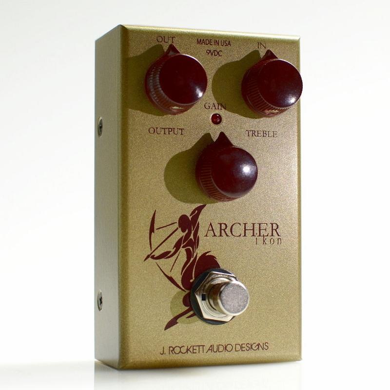 【レビューを書いて次回送料無料クーポンGET】Rockett Pedals ARCHER Ikon エフェクター [直輸入品][並行輸入品]【J.Rockett Audio Designs】【JRAD】【新品】