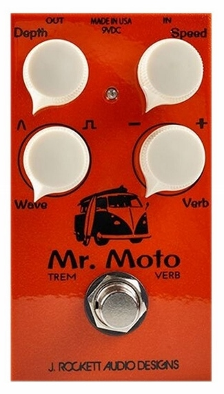 【レビューを書いて次回送料無料クーポンGET】Rockett Pedals Mr. Moto Tremolo エフェクター [直輸入品][並行輸入品]【J.Rockett Audio Designs】【新品】