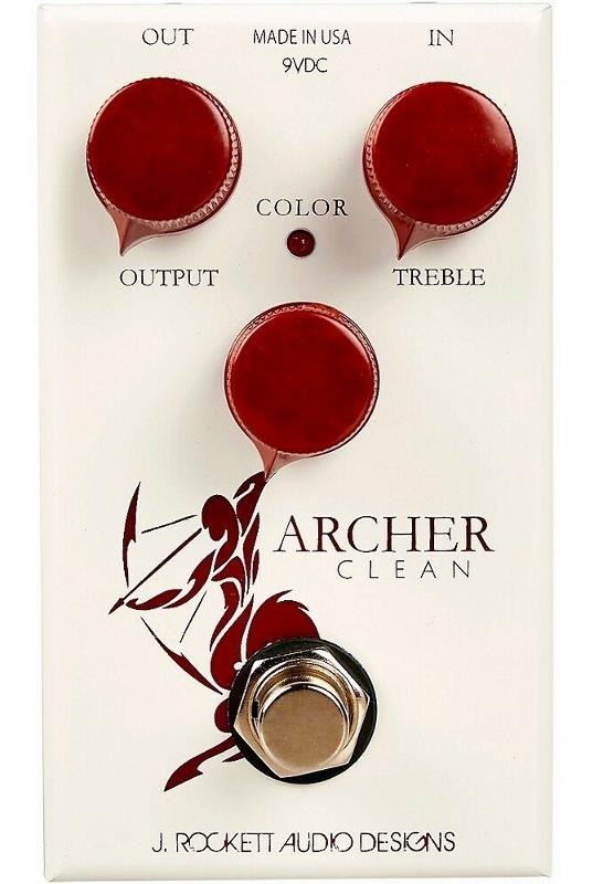 【レビューを書いて次回送料無料クーポンGET】Rockett Pedals Archer Clean Boost エフェクター [直輸入品][並行輸入品]【J.Rockett Audio Designs】 【新品】