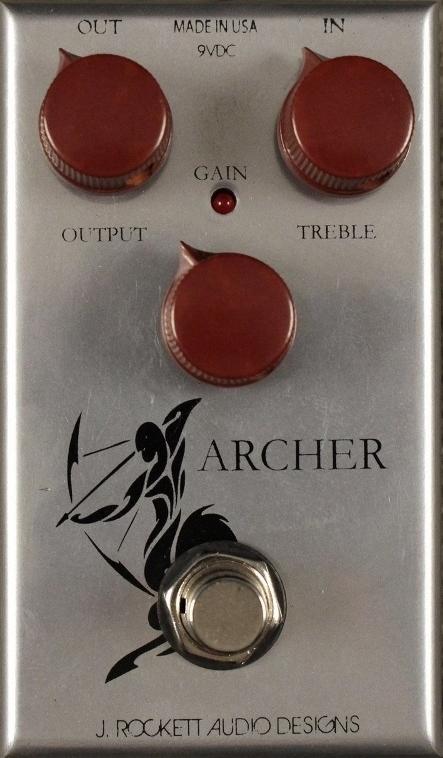 【レビューを書いて次回送料無料クーポンGET】Rockett Pedals ARCHER エフェクター [直輸入品][並行輸入品]【J.Rockett Audio Designs】【新品】