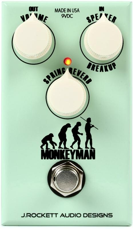 【レビューを書いて次回送料無料クーポンGET】Rockett Pedals Monkeyman Classic Tweed Overdrive エフェクター [直輸入品][並行輸入品]【J.Rockett Audio Designs】【新品】