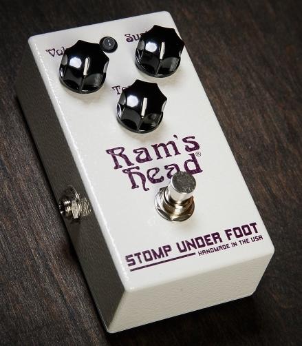 【レビューを書いて次回送料無料クーポンGET】Stomp Under Foot Ram's Head【1年保証】【ストンプアンダーフット】【新品】