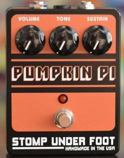【レビューを書いて次回送料無料クーポンGET】Stomp Under Foot Pumpkin Pi【1年保証】【ストンプアンダーフット】【新品】