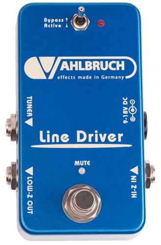 【レビューを書いて次回送料無料クーポンGET】VAHLBRUCH Line Driver エフェクター【1年保証】【ファールブルーフ】【新品】