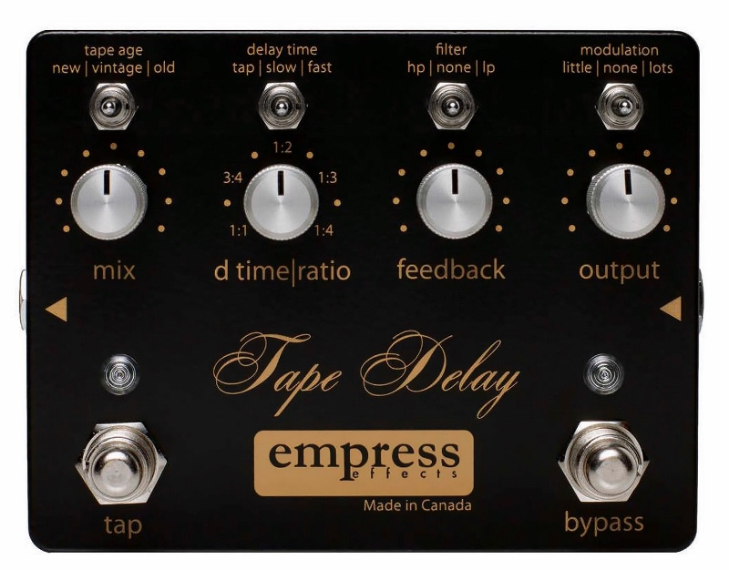 【レビューを書いて次回送料無料クーポンGET】Empress Effects Tape Delay エフェクター [並行輸入品][直輸入品]【ディレイ】【新品】