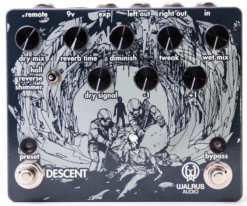 【レビューを書いて次回送料無料クーポンGET】Walrus Audio DESCENT エフェクター [並行輸入品][直輸入品]【ウォルラスオーディオ】【新品】