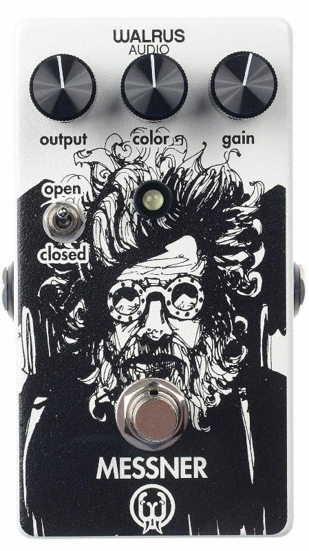 【レビューを書いて次回送料無料クーポンGET】Walrus Audio MESSNER エフェクター [並行輸入品][直輸入品]【ウォルラスオーディオ】【新品】