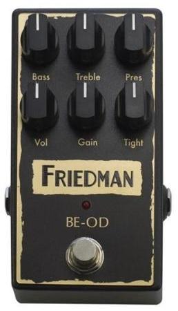 【レビューを書いて次回送料無料クーポンGET】Friedman BE-OD エフェクター [並行輸入品][直輸入品]【フリードマン】【オーバードライブ】【新品】