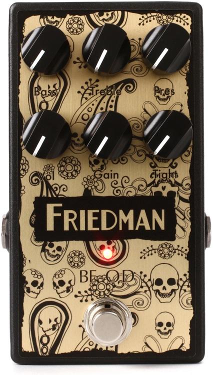 【レビューを書いて次回送料無料クーポンGET】Friedman BE-OD LTD Artisan Edition エフェクター [並行輸入品][直輸入品]【フリードマン】【オーバードライブ】【新品】