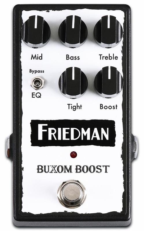 【レビューを書いて次回送料無料クーポンGET】Friedman Buxom Boost Pedal エフェクター [並行輸入品][直輸入品]【フリードマン】【オーバードライブ】【新品】