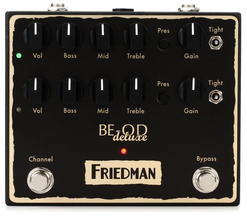 【レビューを書いて次回送料無料クーポンGET】Friedman BE-OD Deluxe エフェクター [並行輸入品][直輸入品]【フリードマン】【オーバードライブ】【新品】