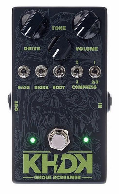 【レビューを書いて次回送料無料クーポンGET】KHDK Electronic Ghoul Screamer Kirk Hammett エフェクター[並行輸入品][直輸入品]【カーク・ハメット】【新品】