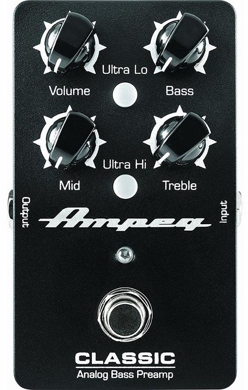 【海外限定】 【レビューを書いて次回送料無料クーポンGET】Ampeg Classic Analog Analog Bass Bass Classic Preamp エフェクター[並行輸入品][直輸入品]【アンペグ】【ベース用DI】【新品】, ザマミソン:7cb1d009 --- canoncity.azurewebsites.net