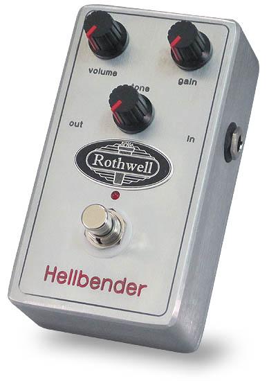 【レビューを書いて次回送料無料クーポンGET】Rothwell Hellbender エフェクター【メーカー1年保証】【ロスウェル】【新品】
