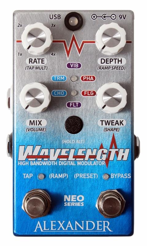【レビューを書いて次回送料無料クーポンGET】Alexander pedals Neo Series Wavelength エフェクター【1年保証】【アレキサンダー】【新品】
