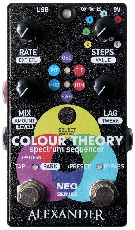 【レビューを書いて次回送料無料クーポンGET】Alexander Pedals Neo Series Colour Theory エフェクター【1年保証】【アレキサンダー】【新品】