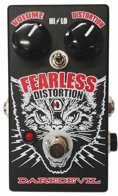 【レビューを書いて次回送料無料クーポンGET】DAREDEVIL PEDALS Fearless Distortion エフェクター【1年保証】【デアデビルペダルズ】【新品】