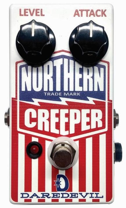 【レビューを書いて次回送料無料クーポンGET】DAREDEVIL PEDALS Northern Creeper Silicon Fuzz エフェクター【1年保証】【デアデビルペダルズ】【新品】
