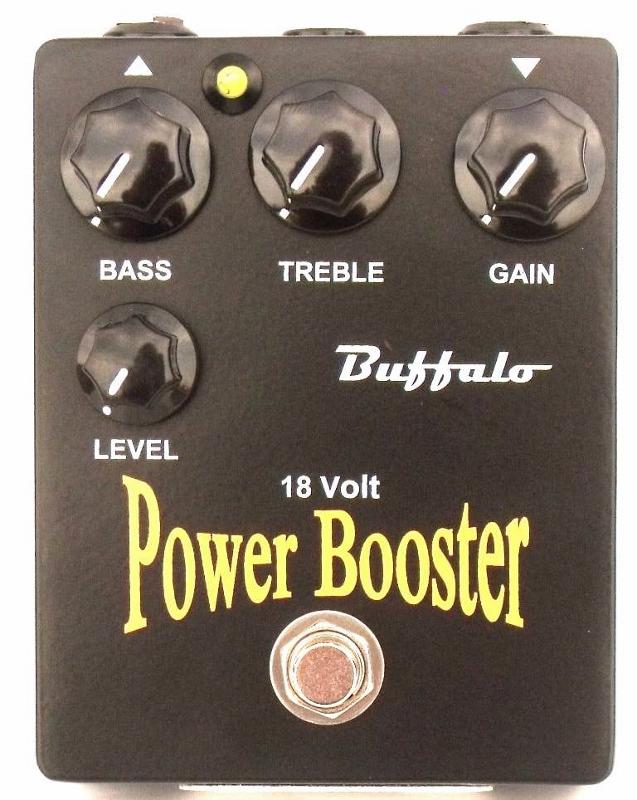 【レビューを書いて次回送料無料クーポンGET】Buffalo FX 18V POWER BOOSTER エフェクター【1年保証】【バッファローエフェクツ】【新品】