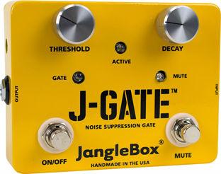 【レビューを書いて次回送料無料クーポンGET】JangleBox J-Gate エフェクター【1年保証】【ジャングルボックス】【新品】