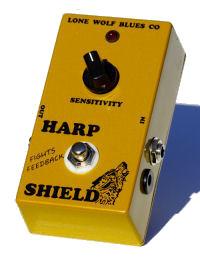 【レビューを書いて次回送料無料クーポンGET】Lone Wolf Blues Company Harp Shield エフェクター【1年保証】【ローン・ウルフ・ブルース・カンパニー】【新品】