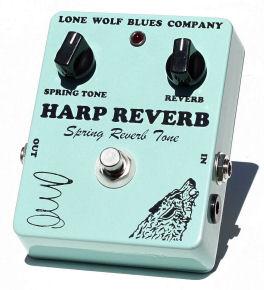 【レビューを書いて次回送料無料クーポンGET】Lone Wolf Blues Company Harp Reverb エフェクター【1年保証】【ローン・ウルフ・ブルース・カンパニー】【新品】