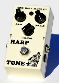 【レビューを書いて次回送料無料クーポンGET】Lone Wolf Blues Company Harp Tone+ エフェクター【1年保証】【ローン・ウルフ・ブルース・カンパニー】【新品】