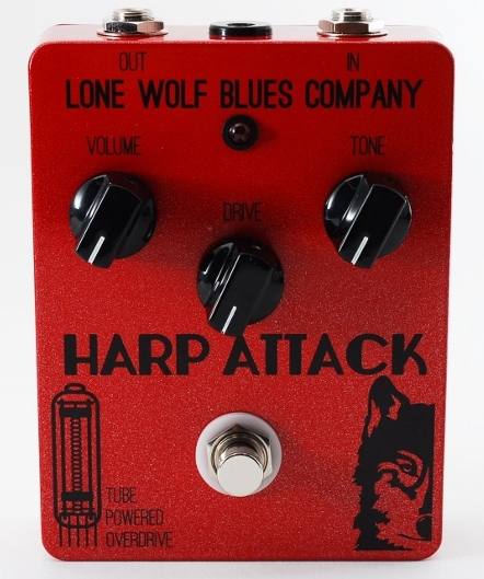 【レビューを書いて次回送料無料クーポンGET】Lone Wolf Blues Company Harp Attack エフェクター【1年保証】【ローン・ウルフ・ブルース・カンパニー】【新品】
