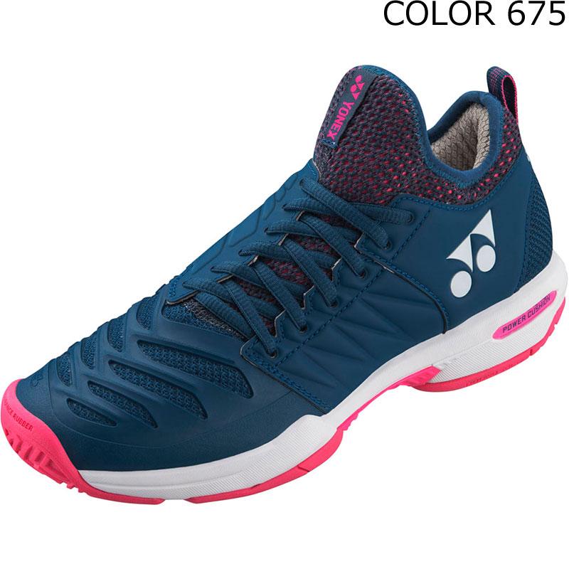 YONEX(ヨネックス) SHTF3LAC テニスシューズ POWER CUSHION FUSIONREV3 WOMEN