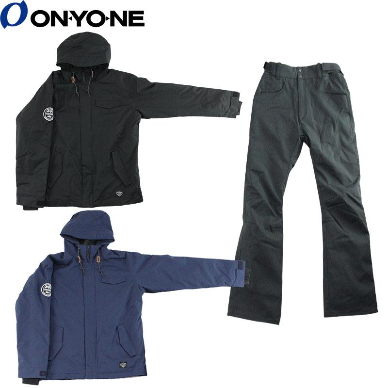 スノーボードウェア メンズ ONYONE(オンヨネ) OTS91102 MENS SNOW BOARD SUIT 上下セット
