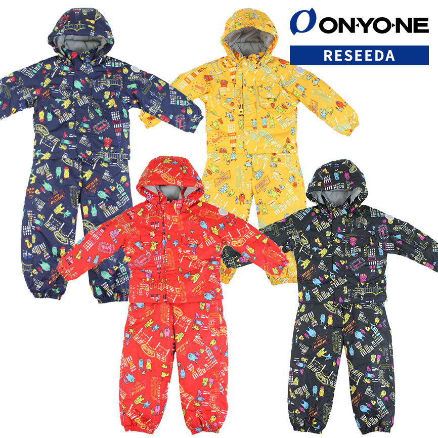 ONYONE RESEEDA(オンヨネ レセーダ) REO51008 スキーウェア キッズ ワンピース 90 100 110 120 スキー 雪遊び