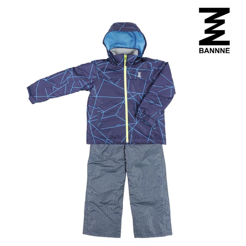 BANNNE(バンネ) BNS72102 スキーウェア ジュニア 上下セット